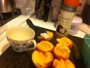 peach preperation