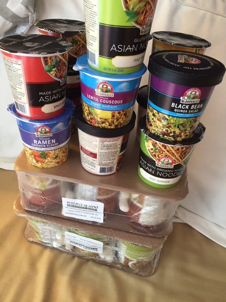 Dr. McDougall's Vegan Meal Plan: Day 1 (Just Breakfast and Lunch) (3/6)