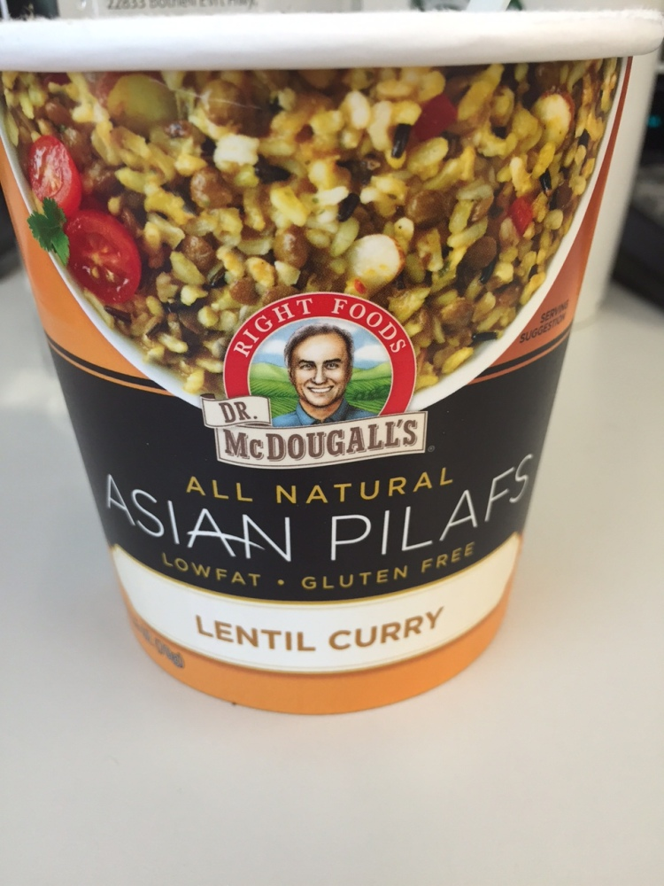 Dr. McDougall's Vegan Meal Plan Day 5: Lunch (1/3)